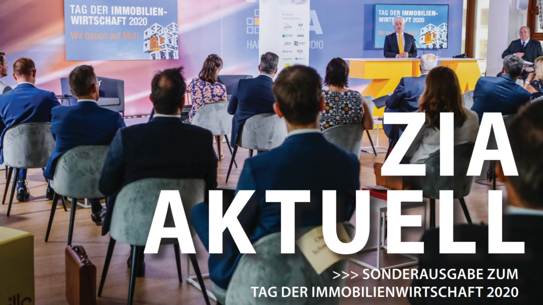 ZIA aktuell im Immobilienmanager